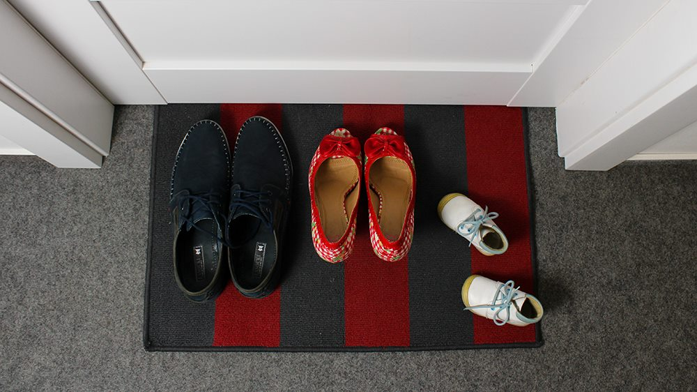 jak oznámit těhotenství - boty