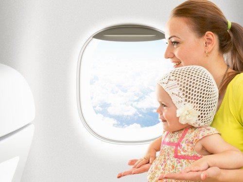 cestování letadlem v těhotenství