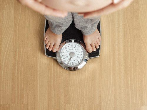 zdravý přírůstek na váze