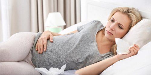 Černý kašel v těhotenství