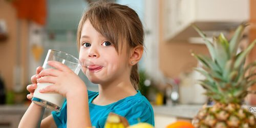 Kravské mléko u dětí