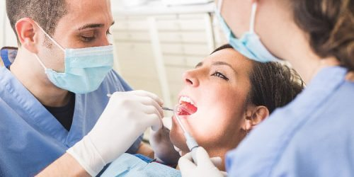 Návštěva stomatologa a zubní péče v těhotenství