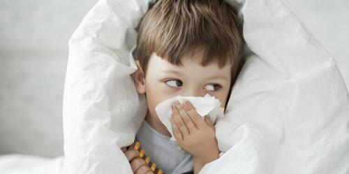 Rýma, kašel a nachlazení u dětí
