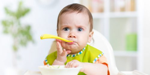 Recepty na příkrmy pro děti od 8 měsíců